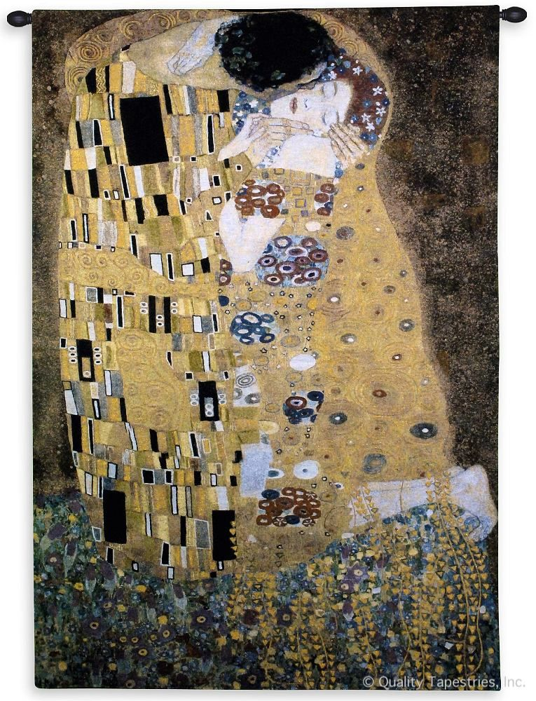Gustav Klimt The Kiss Wall Tapestry C-2751M, 2750-Wh, Ashley, 2750C, 2750Wh, 2751-Wh, 2751C, 2751Cm, 2751Wh, 30-39Incheswide, 32W, 50-59Inchestall, 50-59Incheswide, 53H, 53W, 70-79Inchestall, 76H, Abstract, Art, Artist, S, Brown, Carolina, USAwoven, Contemporary, Cotton, European, Famous, Folks, Gold, Gustav, Hanging, Kiss, Klimt, Lady, Man, Masterpiece, Masterpieces, Medieval, Modern, Old, Painting, Paintings, Panel, People, Person, Persons, Seller, Tapastry, Tapestries, Tapestry, Tapistry, The, Top50, Vertical, Wall, Woman, Women, World, Woven, Yellow, Yellow, Bestseller