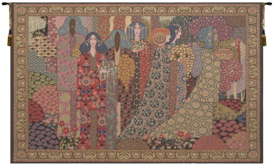 Aladdin Belgian Wall Tapestry aladin, alladin, alladdin, 1001, nights, one, thousand, and