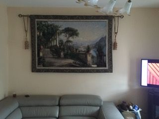 Lodge at Lake Como Wall Tapestry