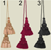"18 Inch Tassels (Set of 2) - T18""2"