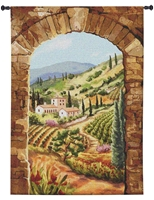 Tuscan Vineyard Wall Tapestry C-6755M, C-6756, 40-49Incheswide, Ashley, 44W, 60-69Inchestall, 60-69Incheswide, 60H, 6344-Wh, 6344C, 6344Wh, 6364-Wh, 6364C, 6364Cm, 6364Wh, 64W, 80-99Inchestall, 90H, Afternoon, Archway, Art, Big, Brick, Brown, Carolina, USAwoven, Cotton, Earth, Erope, Europe, European, Eurupe, Field, Hanging, In, Italian, Italy, Landscape, Landscapes, Large, Really, Scene, Tapestries, Tapestry, Tuscan, Tuscany, Urope, Vertical, Wall, Woven, Bestseller, tapestries, tapestrys, hangings, and, the