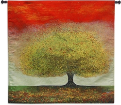 Enchanting Tree Red Sky Wall Tapestry Abstract, Art, Bold, Carolina, USAwoven, Contemporary, Cotton, Country, Field, Hanging, Landscape, Large, Modern, Paint, Painting, Red, Square, Tapastry, Tapestries, Tapestry, Tapistry, Tree, Treeline, Trees, Wall, White, Woven, Bestseller, tapestries, tapestrys, hangings, and, the, dreaming, red, jewel, river