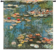 Claude Monet Water Lilies Wall Tapestry 30-39Inchestall, 30-39Incheswide, 31H, 31W, 3570-Wh, 3570C, 3570Wh, 50-59Inchestall, 50-59Incheswide, 51H, 51W, 60-69Inchestall, 60-69Incheswide, Abstract, Art, Autumn, S, Botanical, Carolina, USAwoven, Contemporary, Cotton, Floral, Flower, Flowers, Hanging, Large, Leaf, Modern, Orange, Pedals, Red, Seller, Square, Tapastry, Tapestries, Tapestry, Tapistry, Wall, Woven, Woven, Bestseller, tapestries, tapestrys, hangings, and, the, farm, garden, with, sunflowers, lake, lily, lilys
