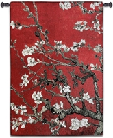 Almond Blossom Red Vertical Wall Tapestry Abstract, Almond, Art, S, Blossom, Red, Botanical, Carolina, USAwoven, Cotton, Floral, Flower, Flowers, Gogh, Hanging, Oriental, Pedals, Seller, Tapestries, Tapestry, Top50, Tree, Van, Wall, White, Woven, Woven, Bestseller, tapestries, tapestrys, hangings, and, the, exclusive, vertical
