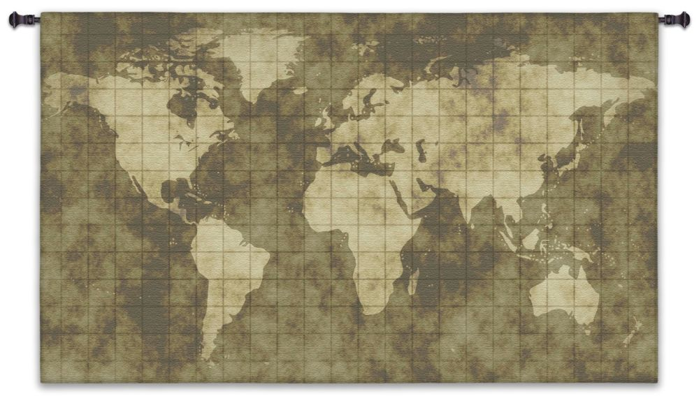 World Map Wall Tapestry World Map Wall Tapestry Tapestries hanging old antique lines horizontal earth globe large extra oversized huge