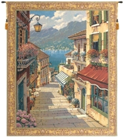 Village in Lombardy Belgian Wall Tapestry W-2354, 30-39Incheswide, 38W, 40-49Inchestall, 47H, 50-59Incheswide, 51W, 60-69Inchestall, 60-69Incheswide, 64H, 65W, 80-99Inchestall, 85H, Belgian, Bellagio, Big, Blue, Bob, Border, Coast, Collection, Green, Italian, Large, Pejman, Really, Red, Robert, Tapestry, Vertical, Village, Wall, Yellow, Bestseller, Belgianwoven, Europeanwoven, Italiancoast, tapestries, tapestrys, hangings, and, the, wool, Bellagio, Village