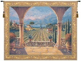 Tuscan Palazzo Belgian Wall Tapestry W-2358, 30-39Inchestall, 38H, 40-49Incheswide, 47W, 50-59Inchestall, 52H, 60-69Inchestall, 60-69Incheswide, 64W, 65H, 80-99Incheswide, 85W, Art, Belgian, Big, Blue, Bob, Coast, Collection, Cotton, Estate, Europe, European, Floral, Gold, Grande, Hanging, Home, Horizontal, Italian, Lakeside, Landscape, Large, Of, Old, Olde, Pejman, Really, Robert, Tapastry, Tapestries, Tapestry, Tapistry, Tuscany, Villa, Vineyard, Wall, World, Woven, Bestseller, Belgianwoven, Europeanwoven, Italiancoast, tapestries, tapestrys, hangings, and, the, columns, archway, lakeside, tuscany, vineyard, wine