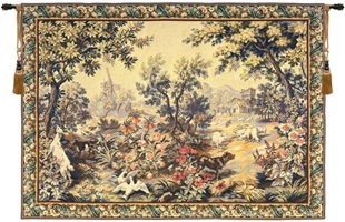 Oudry Summer and Spring French Wall Tapestry