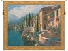 Still Waters Belgian Wall Tapestry W-3936, 30-39Inchestall, 38H, 40-49Incheswide, 48W, 50-59Inchestall, 52H, 60-69Inchestall, 60-69Incheswide, 64H, 65W, 80-99Incheswide, 84W, Belgian, Big, Blue, Bob, Border, Coast, Collection, Como, Flanders, Gold, Horizontal, Italian, Lake, Large, Morning, Pejman, Really, Reflections, Tapestry, Wall, Yellow, Belgianwoven, Europeanwoven, Italiancoast, italy, compania, campania, tapestries, tapestrys, hangings, and, the, morning, reflections
