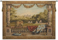 Maison Royale II French Wall Tapestry W-664, 100-200Incheswide, 110W, 40-49Inchestall, 44H, 50-59Inchestall, 50-59Incheswide, 58H, 58W, 70-79Incheswide, 78W, Art, Bellevue, Big, Biggest, Brown, Castle, Chateau, Collection, Cotton, Enormous, Europe, European, France, French, Grande, Hanging, Horizontal, Huge, Large, Largest, Medieval, Of, Old, Olde, Palace, Really, Tapastry, Tapestries, Tapestry, Tapistry, Top50, Vintage, Wall, World, Woven, Bestseller, Frenchwoven, Europeanwoven, wool, tapestries, tapestrys, hangings, and, the, wool, baroque