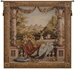 Maison Royale II Square French Wall Tapestry - W-664-SQ