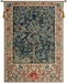 Tree of Life Blue William Morris Belgian Wall Tapestry - W-6842-18