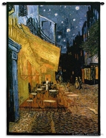 Van Gogh Cafe Terrace at Night Wall Tapestry C-1452, 1452-Wh, 1452C, 1452Wh, 30-39Incheswide, 38W, 50-59Inchestall, 53H, Abstract, Art, Artist, Ashley, At, S, Black, Blue, Border, Cafe, Carolina, USAwoven, Cityscape, Cityscapes, Contemporary, Cotton, De, Erope, Europe, European, Eurupe, Famous, Gogh, Gold, Hanging, Masterpiece, Masterpieces, Modern, Night, Nuit, Old, Painting, Paintings, Purple, Seller, Tapastry, Tapestries, Tapestry, Tapistry, Terrace, Top50, Urope, Van, Vertical, Vincent, Wall, Woven, Yellow, Yellow, Bestseller, tapestries, tapestrys, hangings, and, the
