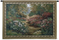 Along the Garden Path Wall Tapestry C-2214M, 2214-Wh, 2214C, 2214Cm, 2214Wh, 2541-Wh, 2541C, 2541Wh, 42H, 50-59Inchestall, 53H, 53W, 60-69Incheswide, 68W, Along, Art, Beige, Big, Carolina, USAwoven, Cotton, Field, Floral, Flower, Flowers, Garden, Hanging, Horizontal, Huge, Landscape, New, Path, Tapestries, Tapestry, Tapistry, The, Trees, Wall, Wide, Woods, Woven, Bestseller, tapestries, tapestrys, hangings, and, the, Along, Garden, pathway