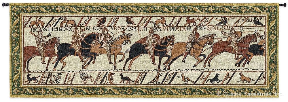 Bayeux Invasion of England Wall Tapestry C-2265, 10-29Inchestall, 2265-Wh, 2265C, 2265Wh, 27H, 70-79Incheswide, 76W, Ages, Art, Artist, Bayeaux, Bayeux, S, Brown, Carolina, USAwoven, Cotton, England, European, Extra, Famous, Hanging, Horizontal, Invasion, Large, Masterpiece, Masterpieces, Medieval, Middle, Of, Old, Painting, Paintings, Panel, Seller, Tapestries, Tapestry, Top50, Wall, Wide, World, Woven, Woven, Bestseller, tapestries, tapestrys, hangings, and, the
