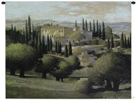 Tuscan Estate Wall Tapestry C-2707, 2707-Wh, 2707C, 2707Wh, 40-49Inchestall, 42H, 50-59Incheswide, 53W, Art, Brown, Carolina, USAwoven, Cotton, Countryside, Earth, Erope, Estate, Europe, European, Eurupe, Field, Green, Hanging, Home, Horizontal, Italian, Italy, Landscape, Landscapes, Scene, Tapestries, Tapestry, Tuscan, Tuscany, Urope, Wall, Woven, tapestries, tapestrys, hangings, and, the