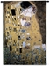 Gustav Klimt The Kiss Wall Tapestry - C-2751