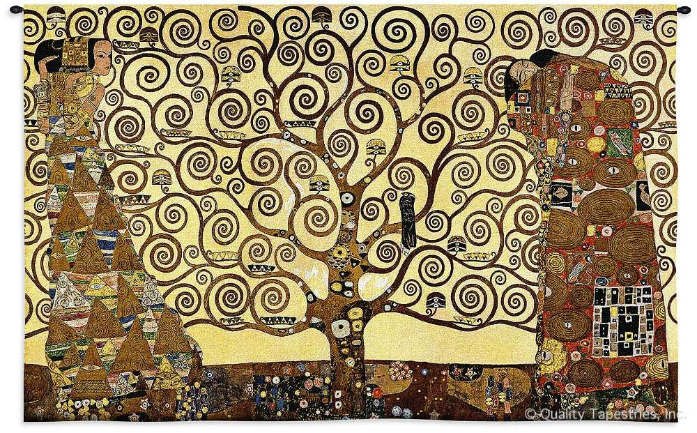 Gustav Klimt Stoclet Frieze Tree of Life Wall Tapestry C-3088, 30-39Inchestall, 3088-Wh, 3088C, 3088Wh, 34H, 50-59Incheswide, 53W, Abstract, Art, Artist, S, Brown, Carolina, USAwoven, Contemporary, Cotton, Famous, Frieze, Gustav, Hanging, Horizontal, Klimt, Life, Masterpiece, Masterpieces, Modern, Of, Old, Painting, Paintings, Seller, Stoclet, Tapastry, Tapestries, Tapestry, Tapistry, Top50, Tree, Wall, Woven, Woven, Bestseller, Treeoflife, tapestries, tapestrys, hangings, and, the