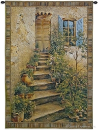 Italian Cottage Wall Tapestry