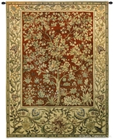 Tree of Life Ruby Red William Morris Wall Tapestry C-3450M, 2767-Wh, 2767C, 2767Wh, 3450-Wh, 3450C, 3450Cm, 3450Wh, 40-49Incheswide, 40W, 50-59Inchestall, 50-59Incheswide, 53H, 53W, 70-79Inchestall, 71H, Art, Artist, S, Botanical, Carolina, USAwoven, Cotton, Famous, Floral, Flower, Flowers, Gold, Green, Hanging, Large, Life, Morris, Of, Painter, Painting, Pedals, Red, Ruby, Seller, Tapestries, Tapestry, Top50, Tree, Vertical, Wall, William, Woven, Yellow, Yellow, Bestseller, Treeoflife, tapestries, tapestrys, hangings, and, the