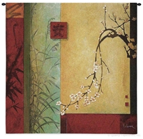 Asian Spring Chorus Wall Tapestry C-3976M, 3975-Wh, 3975C, 3975Wh, 3976-Wh, 3976C, 3976Cm, 3976Wh, 40-49Inchestall, 40-49Incheswide, 44H, 44W, 50-59Inchestall, 50-59Incheswide, 53H, 53W, Abstract, Art, Asia, Asian, S, Blossom, Blossoms, Brown, Carolina, USAwoven, Chinese, Chorus, Contemporary, Cotton, Don, Flower, Hanging, Japanese, Leger, Li, Li-Leger, Orient, Oriental, Red, Seller, Spring, Square, Tapestries, Tapestry, Wall, Woven, Woven, Bestseller, tapestries, tapestrys, hangings, and, the