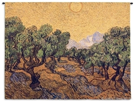 Van Gogh Olive Trees Wall Tapestry C-4169, 40-49Inchestall, 40H, 4169-Wh, 4169C, 4169Wh, 50-59Incheswide, 53W, Abstract, Art, Artist, Brown, Carolina, USAwoven, Contemporary, Cotton, Erope, Europe, European, Eurupe, Famous, Gogh, Green, Hanging, Horizontal, Masterpiece, Masterpieces, Modern, Old, Olive, Orange, Painting, Paintings, Tapastry, Tapestries, Tapestry, Tapistry, Trees, Urope, Van, Vincent, Wall, Woven, tapestries, tapestrys, hangings, and, the