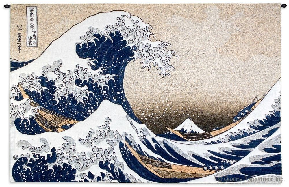 Great Wave Off Kanagawa Wall Tapestry C-4596M, 30-39Inchestall, 35H, 4552-Wh, 4552C, 4552Wh, 4596-Wh, 4596C, 4596Cm, 4596Wh, 50-59Inchestall, 50-59Incheswide, 53H, 53W, 80-99Incheswide, 80W, Abstract, Art, Ashley, Asia, Asian, S, Big, Blue, Boat, Brown, Carolina, USAwoven, Chinese, Coastal, Cotton, Extra, Famous, Great, Hanging, Horizontal, Huge, Japanese, Kanagawa, Large, Of, Off, Orient, Oriental, Really, Seller, Tapestries, Tapestry, The, Top50, Wall, Wave, Wide, Woven, Woven, Bestseller, tapestries, tapestrys, hangings, and, the