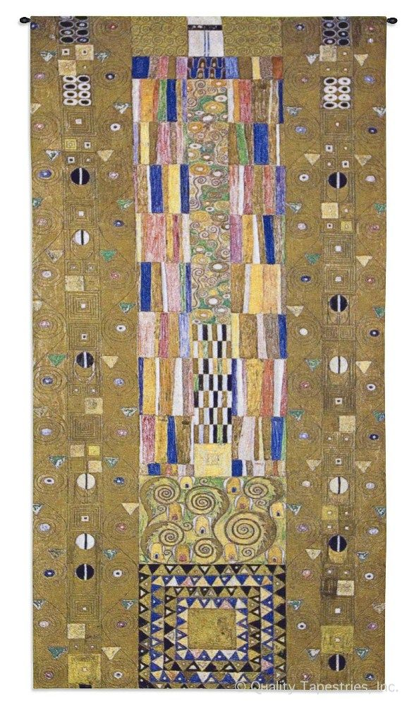 Gustav Klimt Fregio Stoclet Wall Tapestry C-4696M, 10-29Incheswide, 100-200Inchestall, 114H, 28W, 4636-Wh, 4636C, 4636Wh, 4696-Wh, 4696C, 4696Cm, 4696Wh, 50-59Inchestall, 50-59Incheswide, 52H, 53W, Abstract, Art, Artist, Big, Biggest, Brown, Carolina, USAwoven, Complex, Contemporary, Cotton, Design, Designs, Enormous, Extra, Famous, Fregio, Gold, Gustav, Hanging, Huge, Intricate, Klimt, Large, Largest, Long, Masterpiece, Masterpieces, Modern, Narrow, Old, Painting, Paintings, Panel, Pattern, Patterns, Really, Shapes, Stoclet, Tall, Tapastry, Tapestries, Tapestry, Tapistry, Textile, Vertical, Wall, Woven, Woven, Bestseller, tapestries, tapestrys, hangings, and, the, knight