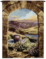 Afternoon in Tuscany Wall Tapestry C-6364M, 40-49Incheswide, Ashley, 44W, 60-69Inchestall, 60-69Incheswide, 60H, 6344-Wh, 6344C, 6344Wh, 6364-Wh, 6364C, 6364Cm, 6364Wh, 64W, 80-99Inchestall, 90H, Afternoon, Archway, Art, Big, Brick, Brown, Carolina, USAwoven, Cotton, Earth, Erope, Europe, European, Eurupe, Field, Hanging, In, Italian, Italy, Landscape, Landscapes, Large, Really, Scene, Tapestries, Tapestry, Tuscan, Tuscany, Urope, Vertical, Wall, Woven, Bestseller, tapestries, tapestrys, hangings, and, the
