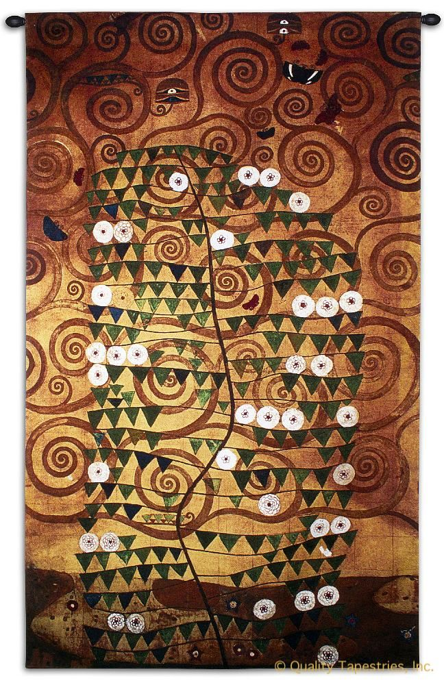 Gustav Klimt Stoclet Sketch Wall Tapestry C-6650, 50-59Incheswide, 52W, 6650-Wh, 6650C, 6650Wh, 80-99Inchestall, 86H, Abstract, Art, Artist, Big, Black, Bold, Brown, Carolina, USAwoven, Complex, Contemporary, Cotton, Dark, Design, Designs, Gustav, Hanging, Intricate, Klimt, Large, Masterpiece, Masterpieces, Old, Orange, Painting, Paintings, Pattern, Patterns, Really, Shapes, Sketch, Stoclet, Swirl, Swirls, Tapastry, Tapestries, Tapestry, Tapistry, Textile, Vertical, Wall, White, Woven, Yellow, tapestries, tapestrys, hangings, and, the