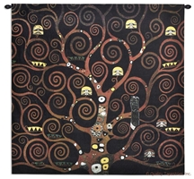 Gustav Klimt Stoclet Frieze Schwarz Wall Tapestry C-6655, 50-59Inchestall, 50-59Incheswide, 53H, 53W, 6655-Wh, 6655C, 6655Wh, Abstract, Art, Artist, Black, Brown, Carolina, USAwoven, Complex, Contemporary, Cotton, Dark, Design, Designs, Frieze, Gustav, Hanging, Intricate, Klimt, Life, Masterpiece, Masterpieces, Of, Old, Painting, Paintings, Pattern, Patterns, Schwarz, Shapes, Square, Stoclet, Tapastry, Tapestries, Tapestry, Tapistry, Textile, Tree, Wall, Woven, Yellow, Treeoflife, tapestries, tapestrys, hangings, and, the