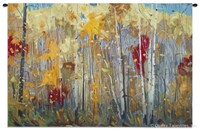 Birch Woods Wall Tapestry C-6884, 30-39Inchestall, Ashley, 34H, 50-59Incheswide, 52W, 6884-Wh, 6884C, 6884Wh, Abstract, Art, Birch, Blue, Bold, Carolina, USAwoven, Complex, Contemporary, Cotton, Design, Designs, Forest, Hanging, Horizontal, Intricate, Mixed, Modern, Pattern, Patterns, Red, Shapes, Tapastry, Tapestries, Tapestry, Tapistry, Textile, Tree, Trees, Wall, Wood, Woods, Woven, Yellow, Bestseller, tapestries, tapestrys, hangings, and, the