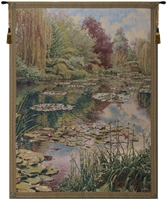 Lake Giverny Tall Belgian Wall Tapestry W-1666, 40-49Incheswide, 40W, 50-59Inchestall, 53H, 60-69Incheswide, 68W, 80-99Inchestall, 82H, Art, Belgian, Big, Claude, Cotton, Europe, European, Giverny, Grande, Green, Hanging, Lake, Landscape, Large, Lilies, Lily, Medieval, Monet, Of, Old, Olde, Pond, Really, Tall, Tapastry, Tapestries, Tapestry, Tapistry, Vertical, Wall, World, Woven, Belgianwoven, Europeanwoven, tapestries, tapestrys, hangings, and, the