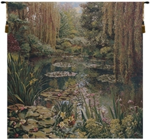 Lake Giverny Square Belgian Wall Tapestry W-1670, 40-49Inchestall, 40-49Incheswide, 40H, 41W, 80-99Inchestall, 80-99Incheswide, 81H, 89W, Art, Belgian, Big, Claude, Cotton, Europe, European, Giverny, Grande, Green, Hanging, Lake, Landscape, Large, Lilies, Lily, Medieval, Monet, Of, Old, Olde, Pond, Really, Square, Tapastry, Tapestries, Tapestry, Tapistry, Wall, World, Woven, Belgianwoven, Europeanwoven, tapestries, tapestrys, hangings, and, the