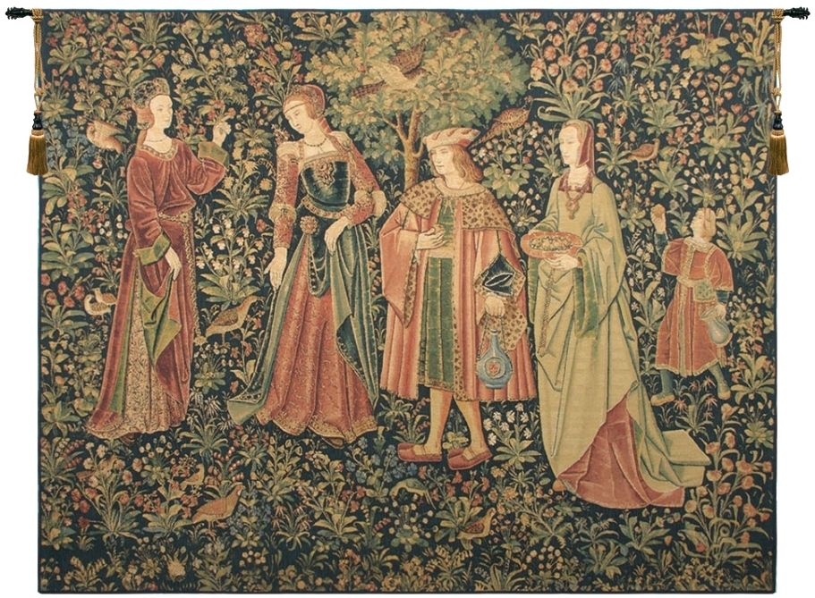 Promenade Nobles Belgian Wall Tapestry W-1694, 100-200Incheswide, 104W, 40-49Inchestall, 40H, 50-59Incheswide, 56W, 60-69Inchestall, 66H, 80-99Inchestall, 80-99Incheswide, 80H, 84W, Art, Belgian, Belgium, Big, Biggest, Cotton, Dark, Enormous, Europe, European, Grande, Hanging, Hhh, Horizontal, Huge, King, Large, Largest, Medieval, Nobles, Of, Old, Olde, People, Princess, Promenade, Queen, Really, Tapastry, Tapestries, Tapestry, Tapistry, Vintage, Wall, World, Woven, Bestseller, Belgianwoven, Europeanwoven, tapestries, tapestrys, hangings, and, the, Renaissance, rennaisance, rennaissance, renaisance, renassance, renaissanse
