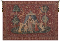 Lady and the Unicorn A Mon Seul Desir I French Wall Tapestry Hanging, Tapestries, Woven, wool, lady, unicorn, tapestries, tapestrys, hangings, and, the, wool, Renaissance, rennaisance, rennaissance, renaisance, renassance, renaissanse