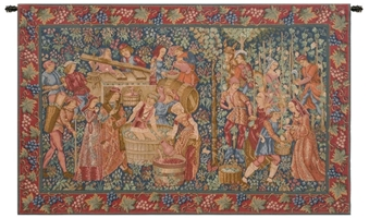Vendanges Grape Harvest French Wall Tapestry W-2187, 10-29Inchestall, 25H, 30-39Inchestall, 30-39Incheswide, 35H, 38W, 50-59Incheswide, 55W, Art, Castle, Chateau, Cotton, Dark, Europe, European, France, French, Grande, Grape, Grapes, Hanging, Harvest, Horizontal, Medieval, Of, Old, Olde, Palace, People, Purple, Red, Tapastry, Tapestries, Tapestry, Tapistry, Vendange, Vendanges, Vendage, Vendages, Tardive, Late, Harvest, Vineyard, Wall, Wine, World, Woven, Bestseller, Frenchwoven, Europeanwoven, tapestries, tapestrys, hangings, and, the, Renaissance, rennaisance, rennaissance, renaisance, renassance, renaissanse