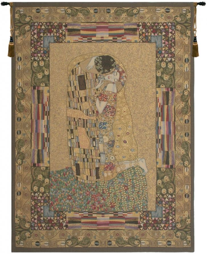 Gustav Klimt The Kiss Belgian Wall Tapestry W-2189, 10-29Incheswide, 26W, 30-39Inchestall, 30-39Incheswide, 36H, 38W, 50-59Inchestall, 50-59Incheswide, 55W, 56H, 70-79Inchestall, 74H, Abstract, Art, Belgian, Brown, Cotton, Europe, European, Gold, Grande, Gustav, Hanging, Kiss, Klimt, Medieval, Of, Old, Olde, Panel, Tapastry, Tapestries, Tapestry, Tapistry, The, Vertical, Wall, World, Woven, Belgianwoven, Europeanwoven, tapestries, tapestrys, hangings, and, the