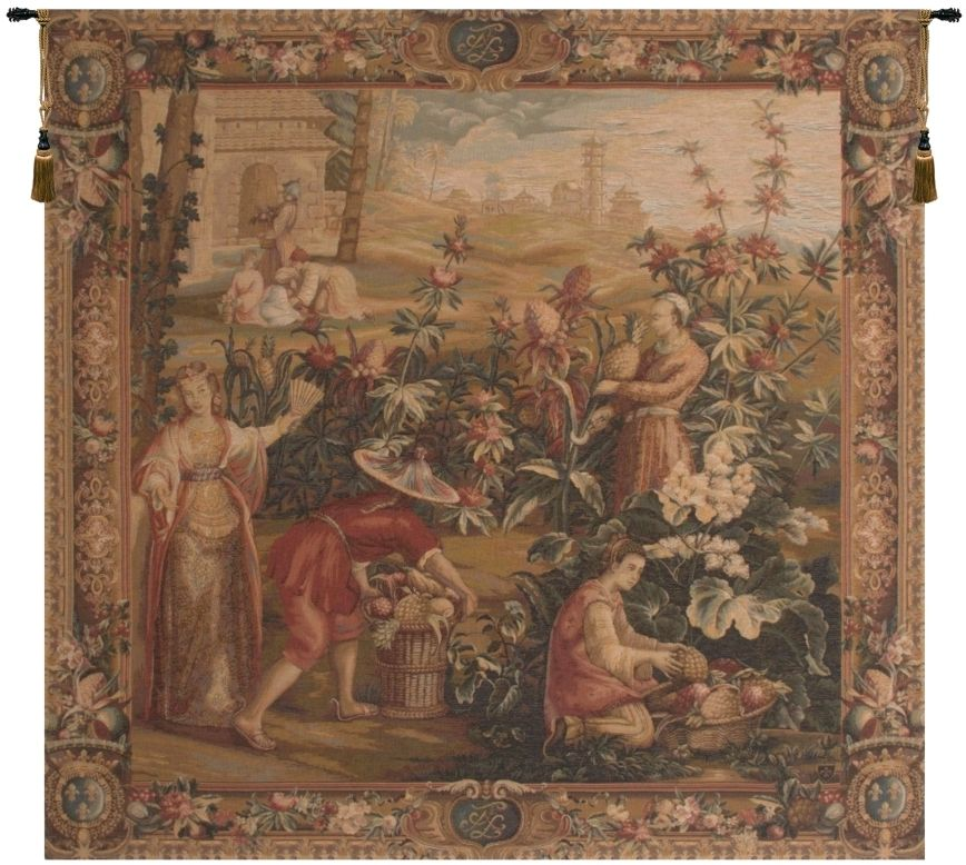 History of the Chinese Emperor II French Wall Tapestry W-2394, 50-59Inchestall, 50-59Incheswide, 58H, 58W, Art, Brown, Cotton, Europe, European, French, Grande, Group, Hanging, Harvest, Medieval, Of, Old, Olde, Pineapple, Red, Square, Sss, Tapastry, Tapestries, Tapestry, Tapistry, Tropical, Vintage, Wall, World, Woven, Frenchwoven, Europeanwoven, tapestries, tapestrys, hangings, and, the, wool, Renaissance, rennaisance, rennaissance, renaisance, renassance, renaissanse
