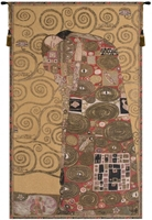 Gustav Klimt Accomplissement Belgian Wall Tapestry W-3518, 10-29Inchestall, 10-29Incheswide, 18W, 27W, 29H, 30-39Incheswide, 37W, 40-49Inchestall, 45H, 50-59Inchestall, 58H, Accomplishment, Accomplissement, Art, Brown, Cotton, Europe, European, France, French, Grande, Gustav, Hanging, Klimt, Medieval, Of, Old, Olde, Tapastry, Tapestries, Tapestry, Tapistry, The, Vertical, Wall, World, Woven, Frenchwoven, Europeanwoven, tapestries, tapestrys, hangings, and, the