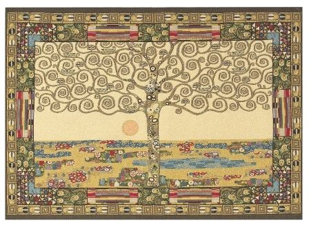 Gustav Klimt Tree of Life Italian Wall Tapestry W-3795, 10-29Inchestall, 10-29Incheswide, 19H, 25W, 30-39Inchestall, 37H, 50-59Incheswide, 53W, Abstract, Art, Brown, Cotton, Europe, European, France, French, Grande, Gustav, Hanging, Horizontal, Italian, Klimt, Life, Medieval, Of, Old, Olde, Serpent, Serpents, Snake, Tapastry, Tapestries, Tapestry, Tapistry, The, Tree, Wall, World, Woven, Italianwoven, Europeanwoven, Treeoflife, tapestries, tapestrys, hangings, and, the