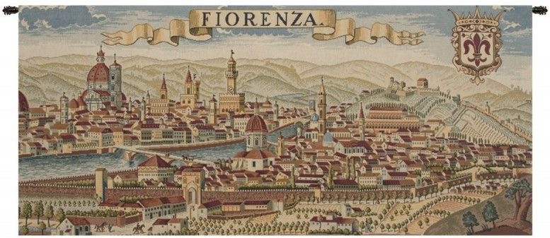 Florence Ancient Map Italian Wall Tapestry Hanging, Tapestries, Woven, tapestries, tapestrys, hangings, and, the