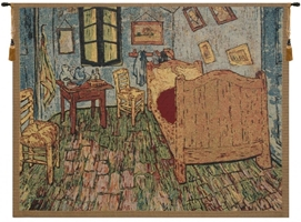 Van Gogh The Bedroom II Belgian Wall Tapestry Hanging, Tapestries, Woven, tapestries, tapestrys, hangings, and, the
