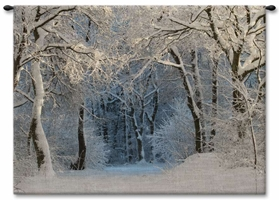 Snowy Forest Wall Tapestry winter, cold, december, november, january, february, flakes, trees, snow, Carolina, USAwoven, Cotton, Hanging, Tapestries, Tapestry, Wall, Woven, Photograph, Photography, Exclusive, tapestries, tapestrys, hangings, and, the