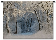 Snowy Forest Wall Tapestry Carolina, USAwoven, Cotton, Hanging, Tapestries, Tapestry, Wall, Woven, Photograph, Photography, Exclusive, tapestries, tapestrys, hangings, and, the