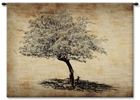 Resting Tree Wall Tapestry Carolina, USAwoven, Cotton, Hanging, Tapestries, Tapestry, Wall, Woven, Photograph, Photography, Exclusive, tapestries, tapestrys, hangings, and, the