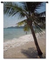 Thailand Beach Wall Tapestry Carolina, USAwoven, Cotton, Hanging, Tapestries, Tapestry, Wall, Woven, Photograph, Photography, Exclusive, Ocean, Sea, Water, Waterfront, Palm, Trees, Tropical, Nautical, Coast, Coastal, tapestries, tapestrys, hangings, and, the